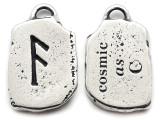 "Runestone Prophecy Pewter Pendant - ""Cosmic"" -  (PWR27)"