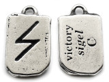 "Runestone Prophecy Pewter Pendant - ""Victory"" -  (PWR32)"