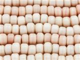 Crow Beads - Beige Pink Glass 9mm (CROW06)