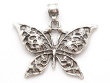 Butterfly Metal Pendant 57mm (AP1002)