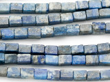 Lapis Lazuli Rectangular Block Gemstone Beads 4-5mm (GS2778)
