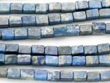 Lapis Lazuli Rectangular Block Gemstone Beads 4-5mm (GS2778)