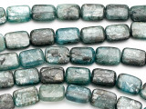 Kyanite Rectangular Tabular Gemstone Beads 14mm (GS2804)