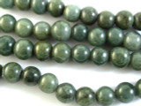 Canadian Jade Round Gemstone Beads 10-12mm (GS2916)