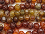Agate Rounded Nugget Gemstone Beads 9-12mm (GS2930)
