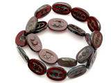 Czech Glass Beads 17mm (CZ606)
