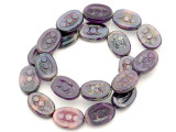 Czech Glass Beads 17mm (CZ608)