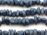 Gray-Blue Nugget Resin Beads 11mm (RES498)