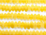 Yellow Sliced Resin Beads 20mm (RES479)