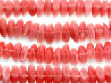 Watermelon Pink Sliced Resin Beads 20mm (RES480)