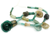 Afghan Ancient Roman Glass Beads (AF1129)