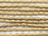 Irregular Brass Rice Beads 8-10mm (ME5653)