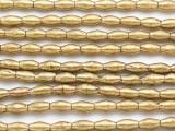 Brass Irregular Rice Beads 8-10mm (ME5653)