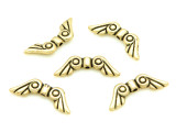 Brass Pewter Bead - Wings 20mm (PB351)