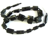 Tourmaline Gemstone Beads - Black (AF1342)