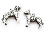 Dog - Pewter Charm (PW1101)