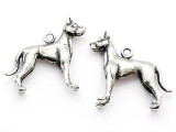 Dog - Great Dane - Pewter Charm (PW1106)