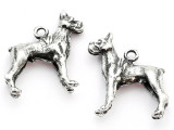 Dog - Boxer - Pewter Charm (PW1108)
