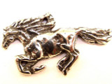 Galloping Horse - Pewter Pendant (PW661)