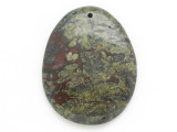 Jasper Gemstone Pendant 38mm (GSP13)