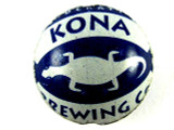 Dark Blue Kona Bottle Cap Bead - Small 15mm (BCB85)