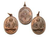 Thai Buddhist Amulet 34mm (TA245)