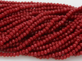 Red Crystal Glass Beads 2mm (CRY15)