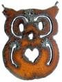 Owl - Rustic Iron Pendant (IR159)
