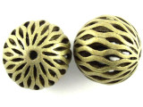 Large Brass Round Bead 24mm (MB31)