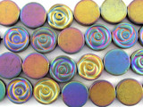 Jeweltone Hematite Rose Gemstone Beads 12mm (GS3088)