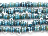 Coffee Mug Lampwork Glass Beads 14mm (LW1453)