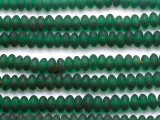 Green Saucer Glass Beads - Nepal 10mm (NP234)