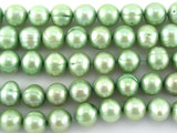 Green Potato Pearl Beads 8mm (PRL149)