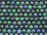 Azurite Round Gemstone Beads 6mm (GS3174)