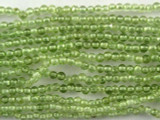Peridot Round Gemstone Beads 1mm (GS3216)