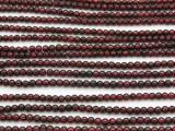 Garnet Round Gemstone Beads 3mm (GS3217)