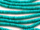 Turquoise Rondelle Beads 6mm (TUR1133)