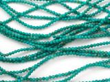 Turquoise Round Beads 2.5mm (TUR1111)
