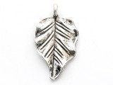 Leaf - Pewter Pendant 30mm (PW667)