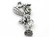 Honey Bee - Pewter Pendant 16mm (PW1142)