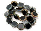Czech Glass Beads 15mm (CZ822)