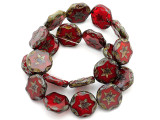 Czech Glass Beads 15mm (CZ796)