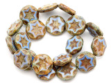Czech Glass Beads 15mm (CZ797)