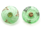 Czech Glass Button 18mm (CZ5016)