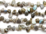Labradorite Petal Gemstone Beads 12mm (GS3278)