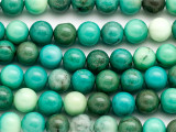 Green Moss Opal Round Gemstone Beads 10mm (GS3236)