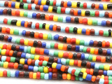 Multi-Color Spacer Glass Beads 4mm (JV961)