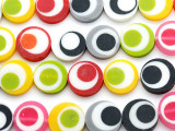 Multi-Color Resin Beads 19mm (RES573)
