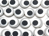 Gray, White & Black Resin Beads 19mm (RES570)