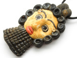 Phoenician Mask Face Pendant 83mm (CB502)